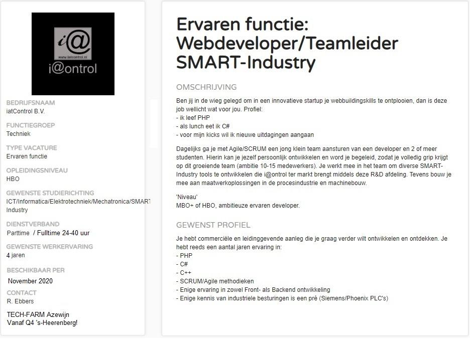 Vacature_Webdeveloper_Teamleider